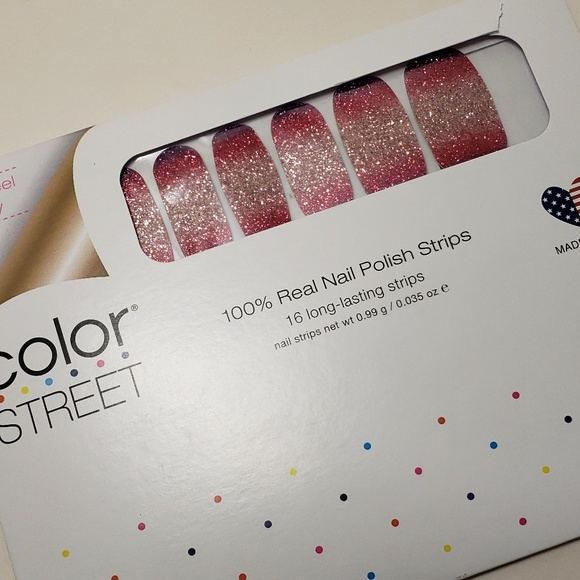 Color Street Other - COLOR STREET Nuclear Fuchsian Nail Strips